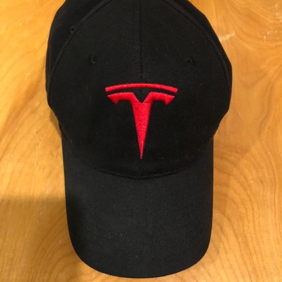 2f203cc4 Tesla T Logo Hat. M_5b359a84619745e76eb8b482